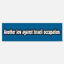 Jews Against Israeli Occupation Bumper Bumper Bumper Sticker