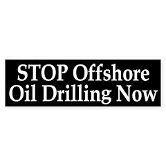 Stop Offshore Oil Drilling Bumper Bumper Sticker