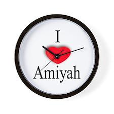 Amiyah Wall Clock