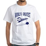 World's Greatest Donor White T-Shirt