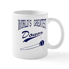 World's Greatest Donor Mug