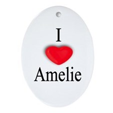 Amelie Oval Ornament