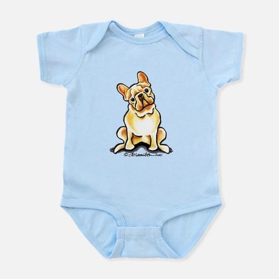 Fawn French Bulldog Infant Bodysuit