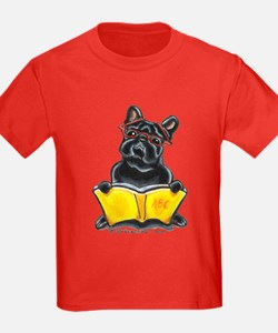 Frenchie Bookworm T