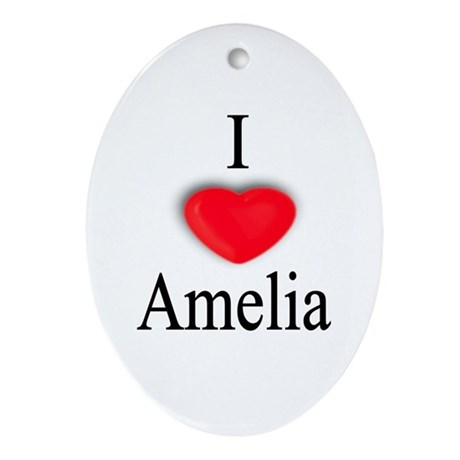 Amelia Oval Ornament