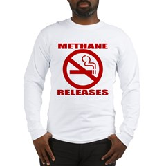 No Smoking (I Farted) Long Sleeve T-Shirt