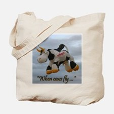 When Cows Fly Tote Bag