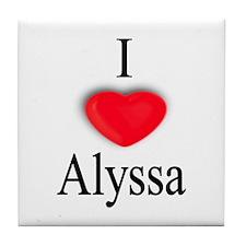 Alyssa Tile Coaster