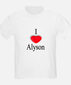 Alyson Kids T-Shirt
