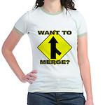 Seuxal Inuendo Merge Jr. Ringer T-Shirt