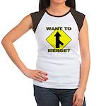 Seuxal Inuendo Merge Women's Cap Sleeve T-Shirt