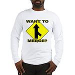 Seuxal Inuendo Merge Long Sleeve T-Shirt