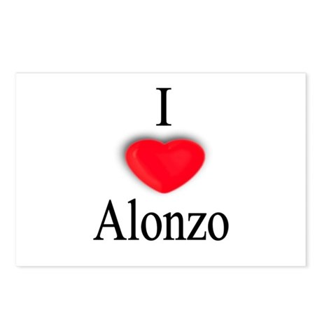Alonzo Postcards (Package of 8)