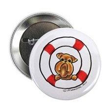 "Brussels Griffon Rescue 2.25"" Button"