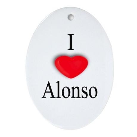 Alonso Oval Ornament