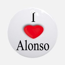 Alonso Ornament (Round)