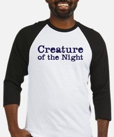 creature of the night Baseball Jersey