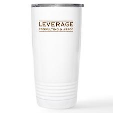 Leverage Consulting Ceramic Travel Mug