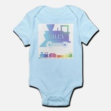 Personalized Train Infant Creeper