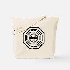 LOST Dharma 2004 - 2010 black Tote Bag