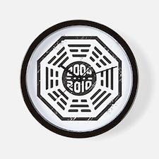 LOST Dharma 2004 - 2010 black Wall Clock