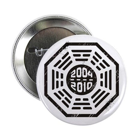 "LOST Dharma 2004 - 2010 black 2.25"" Button"