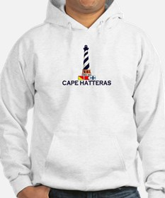 Cape Hatteras NC - Lighthouse Design Hoodie