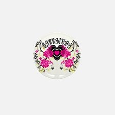 Barracuda Heart Mini Button
