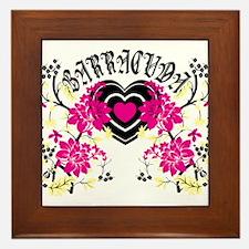 Barracuda Heart Framed Tile