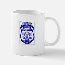 DOD Police Badge Mug