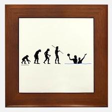 Water Polo Evolution Framed Tile