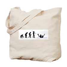 Water Polo Evolution Tote Bag