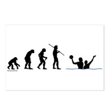 Water Polo Evolution Postcards (Package of 8)