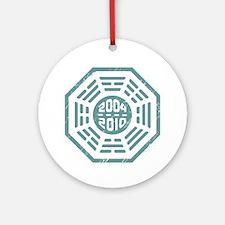 LOST Dharma 2004 - 2010 ocean-green Ornament (Roun