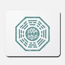 LOST Dharma 2004 - 2010 ocean-green Mousepad