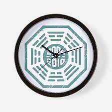 LOST Dharma 2004 - 2010 ocean-green Wall Clock