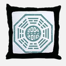 LOST Dharma 2004 - 2010 ocean-green Throw Pillow