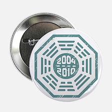 """LOST Dharma 2004 - 2010 ocean-green 2.25"""" Button"""