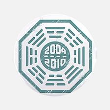 """LOST Dharma 2004 - 2010 ocean-green 3.5"""" Button"""
