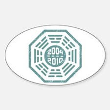 LOST Dharma 2004 - 2010 ocean-green Decal