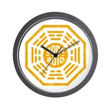 LOST Dharma 2004 - 2010 orange Wall Clock