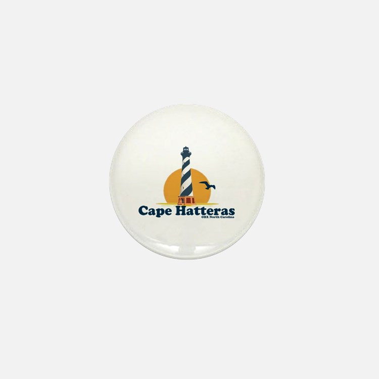 Cape Hatteras NC - Lighthouse Design Mini Button