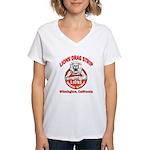Lions Drag Strip Women's V-Neck T-Shirt