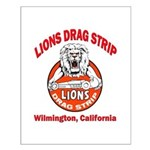 Lions Drag Strip Small Poster