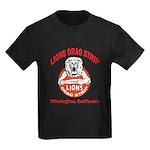 Lions Drag Strip Kids Dark T-Shirt