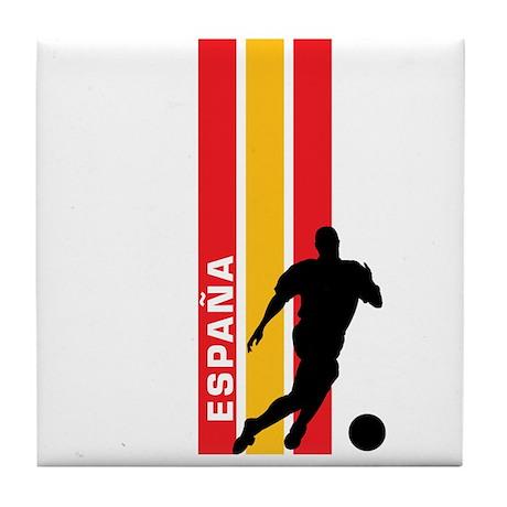 ESPANA FUTBOL 3 Tile Coaster