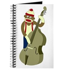 Sock Monkey Upright Bass Journal