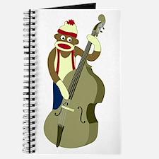 Sock Monkey Upright Bass Journal