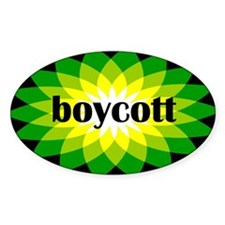 Boycott BP Gulf Oil Spill T-shirts and Stickers St