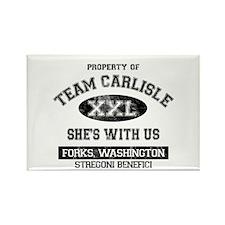 Team Carlisle Rectangle Magnet